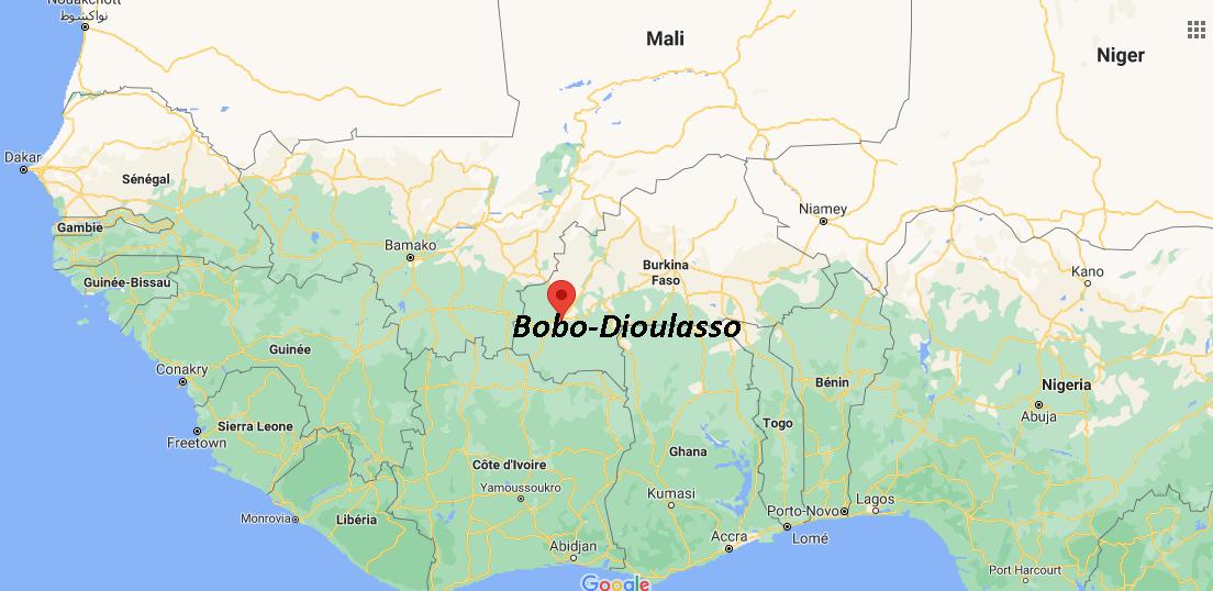 Où se situe Bobo-Dioulasso