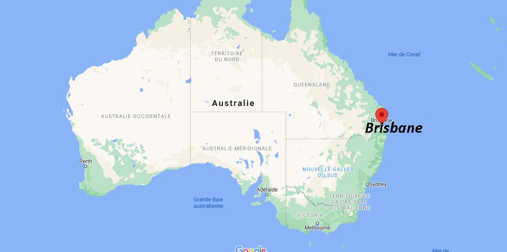 Où se situe Brisbane