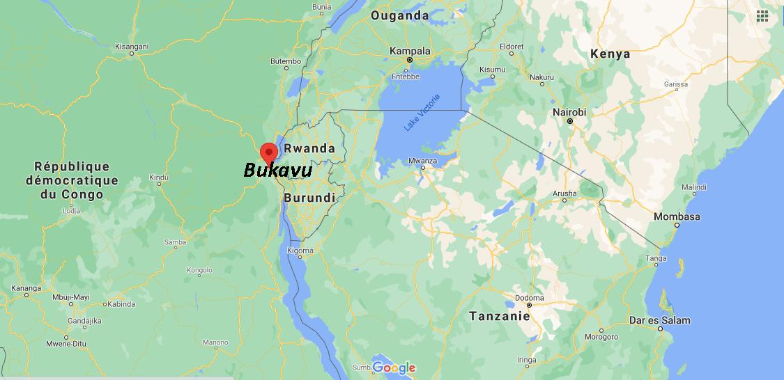 Où se situe Bukavu