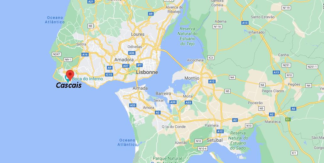Où se situe Cascais