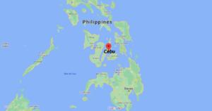 Où se situe Cebu