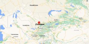 Où se situe Chimkent