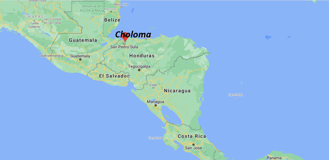 Où se situe Choloma
