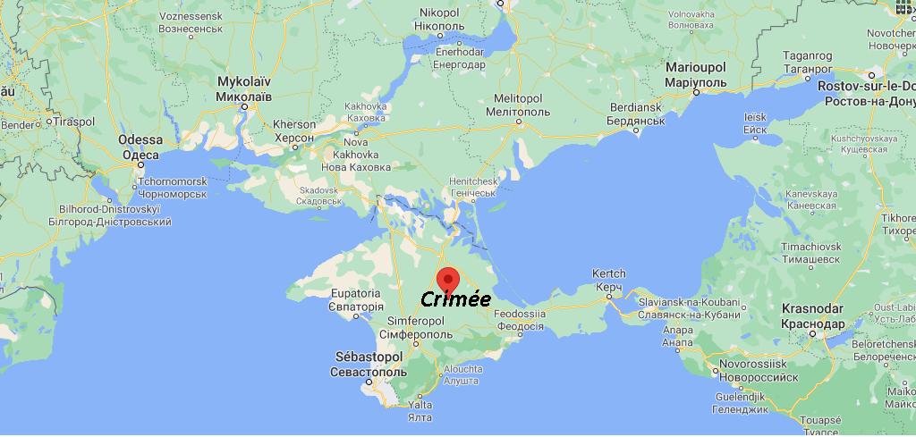 Où se situe Crimée