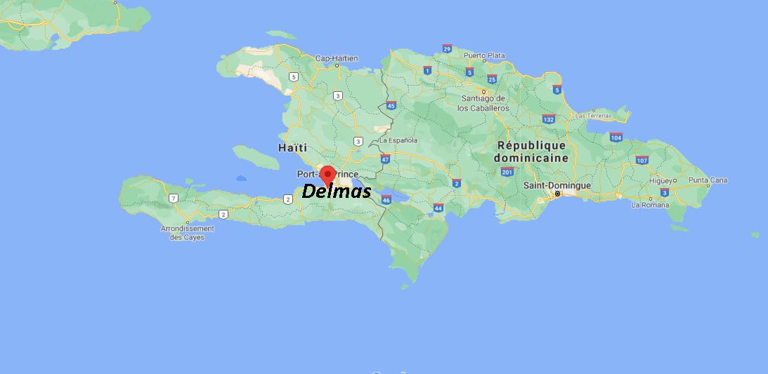 Où se situe Delmas