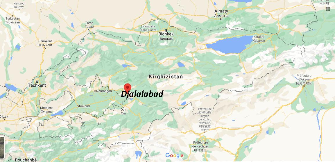 Où se situe Djalalabad