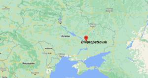 Où se situe Dnipropetrovsk