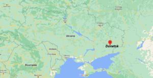 Où se situe Donetsk