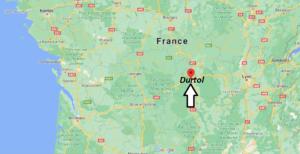 Où se situe Durtol (Code postal 63830)