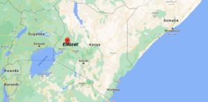 Où se situe Eldoret