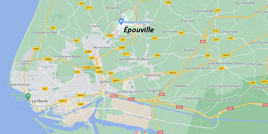 Où se situe Épouville (76133)