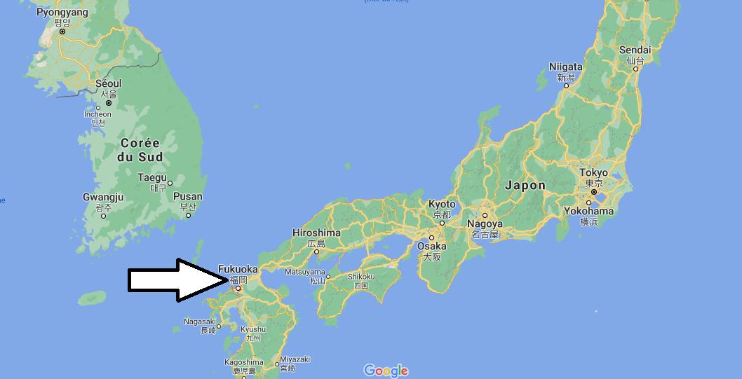 Où se situe Fukuoka