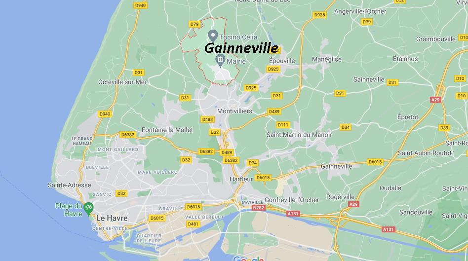 Où se situe Gainneville (76290)