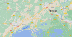 Où se situe Garons (Code postal 30128)