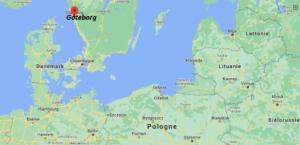 Où se situe Göteborg