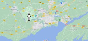Où se situe Guilers (29820)