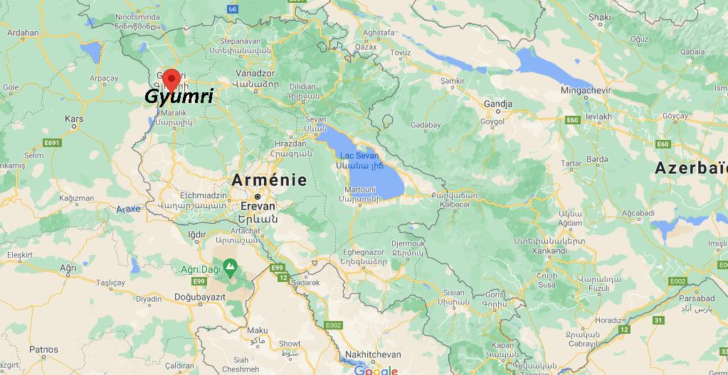 Où se situe Gyumri
