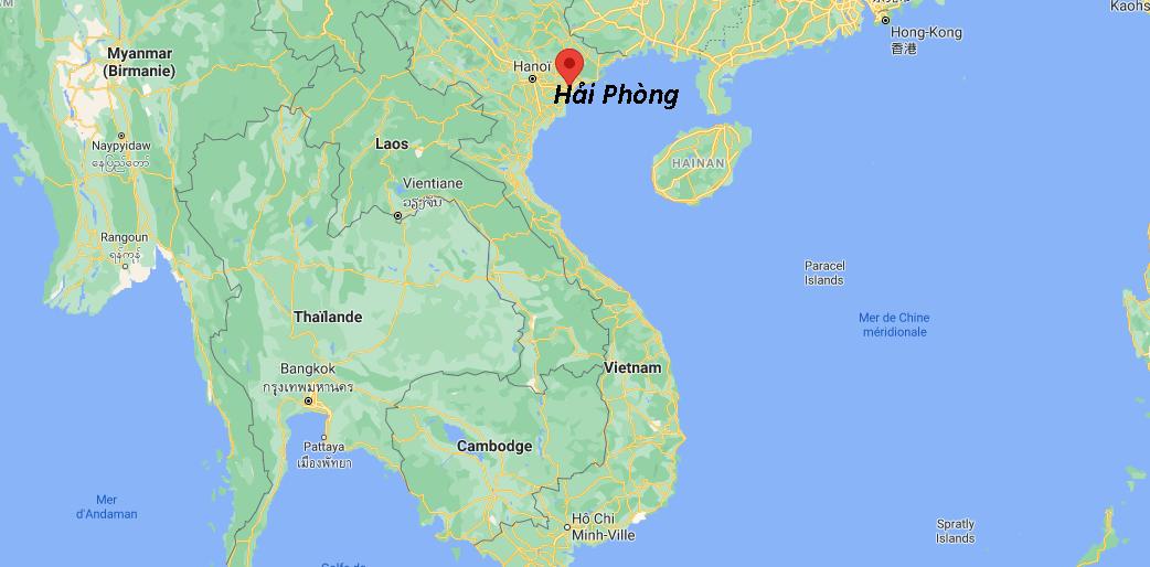 Où se situe Hải Phòng