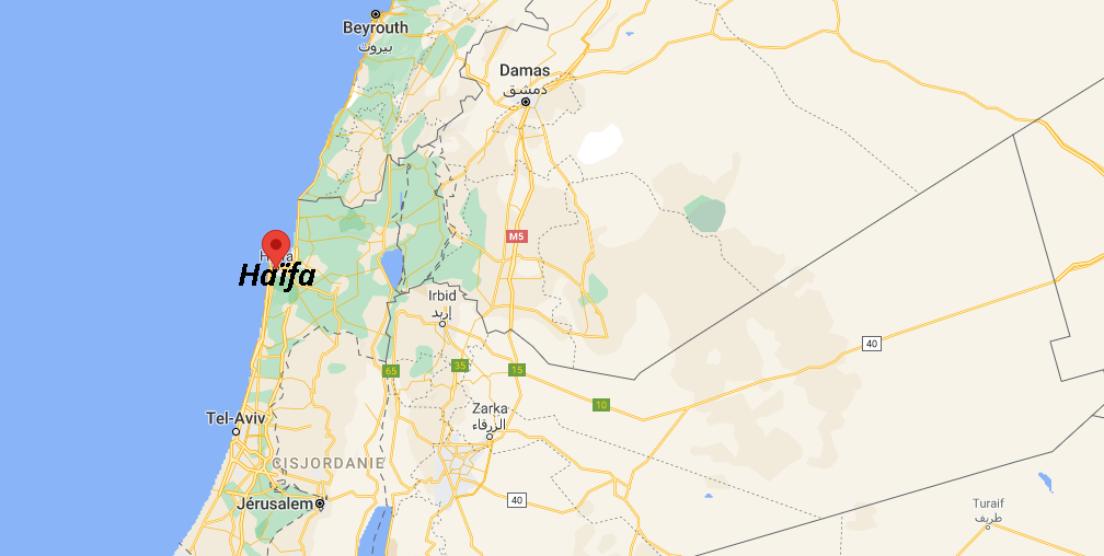 Où se situe Haïfa