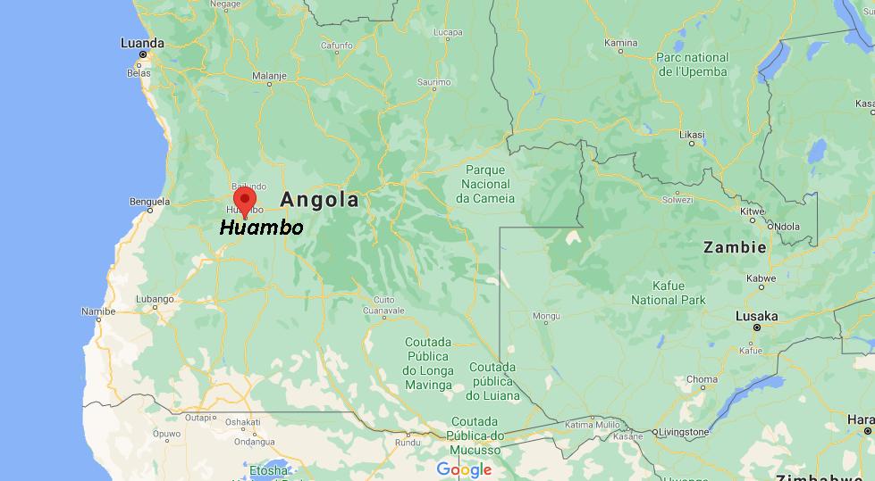 Où se situe Huambo