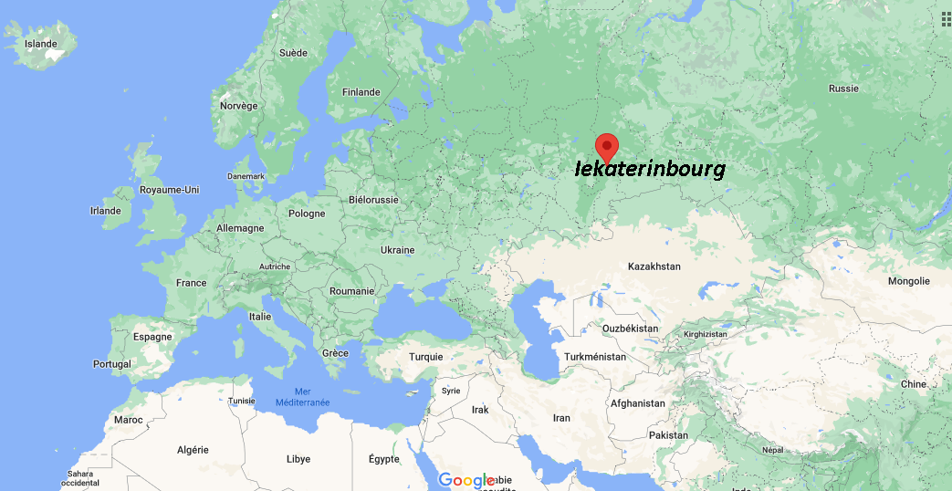 Où se situe Iekaterinbourg