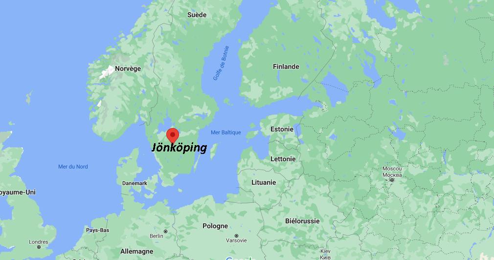 Où se situe Jönköping