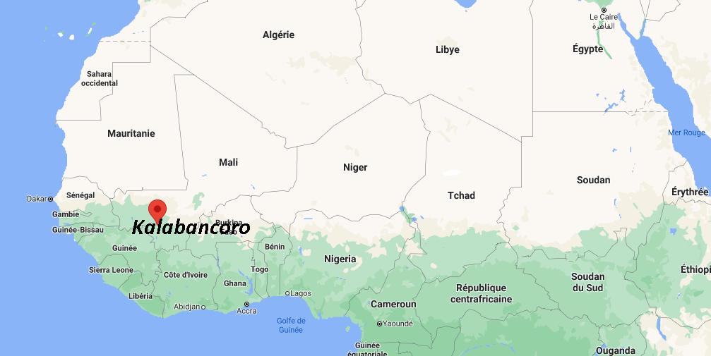 Où se situe Kalabancoro