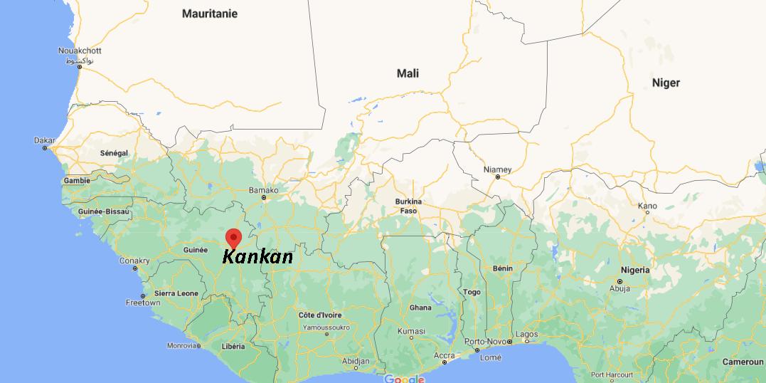 Où se situe Kankan