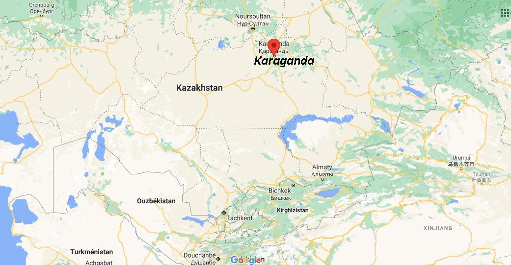 Où se situe Karaganda
