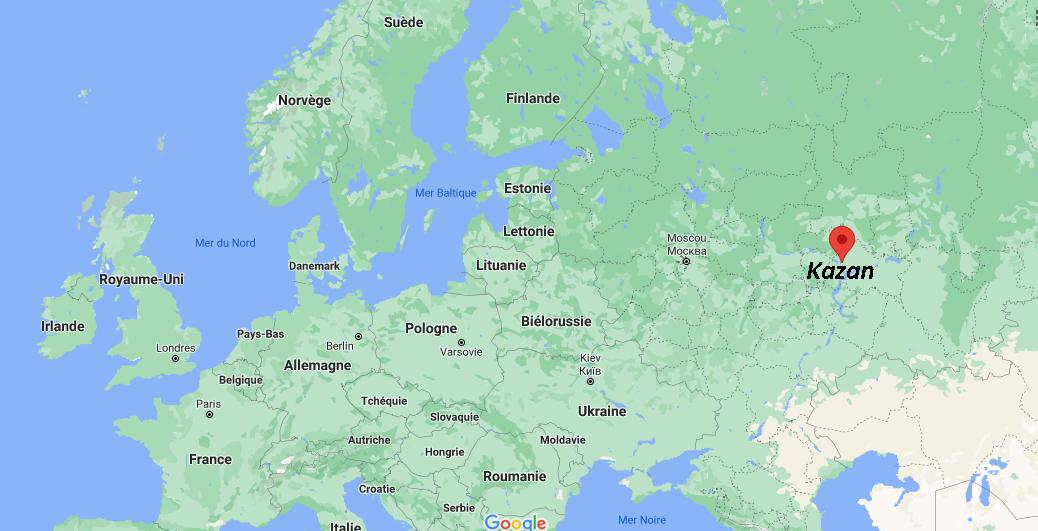 Où se situe Kazan