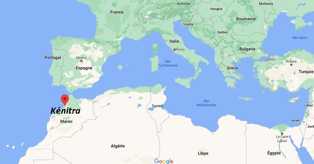 Où se situe Kénitra