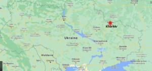 Où se situe Kharkiv