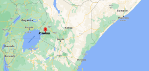 Où se situe Kisumu