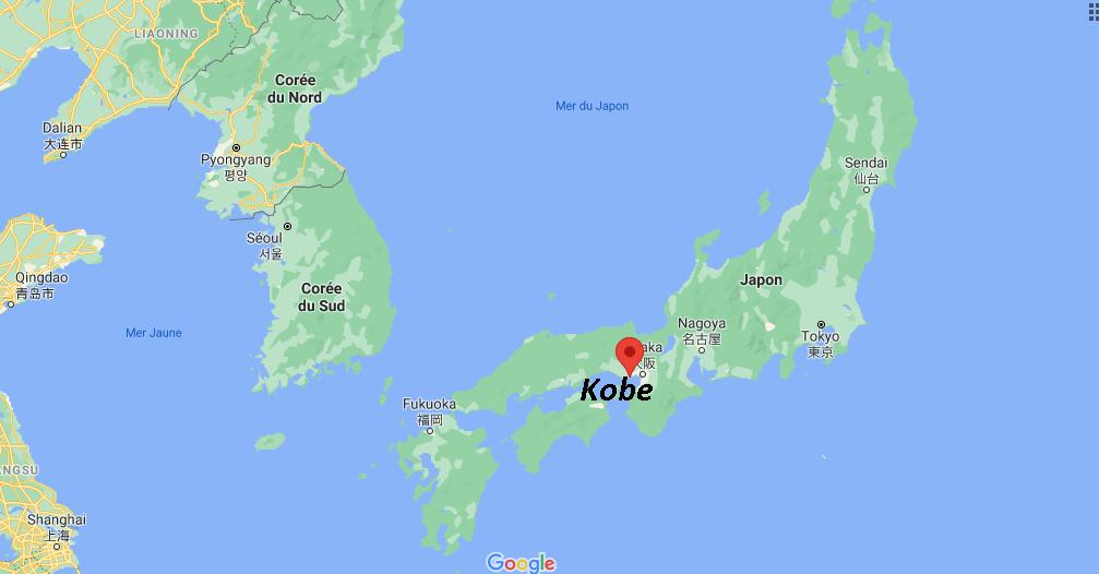Où se situe Kobe