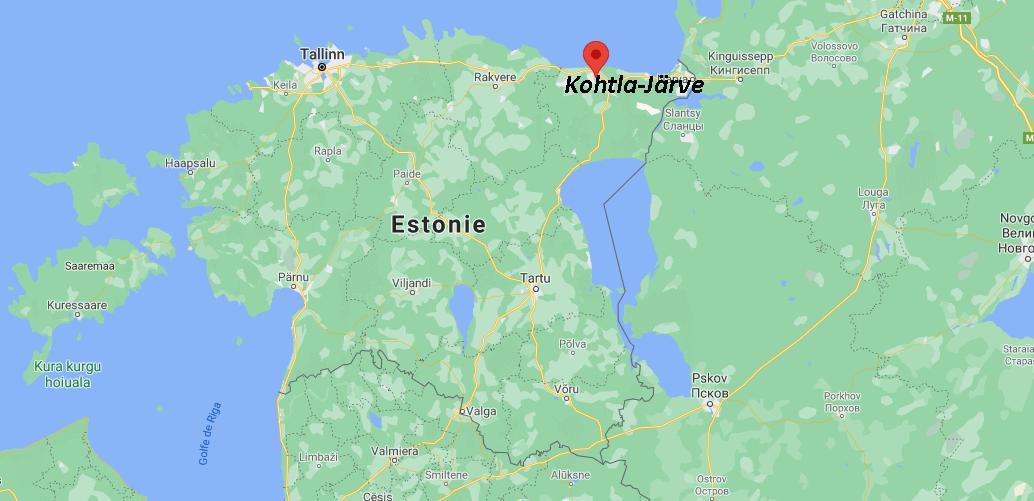 Où se situe Kohtla-Järve