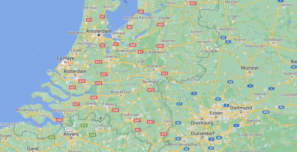 Où se situe La Haye