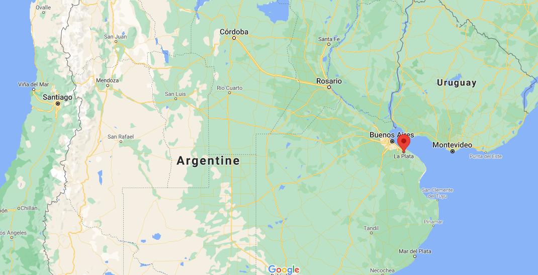 Où se situe La Plata