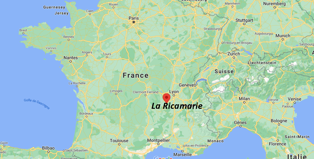 Où se situe La Ricamarie (42150)