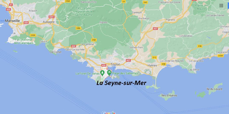 Où se situe La Seyne-sur-Mer (Code postal 83500)