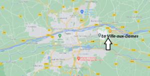 Où se situe La Ville-aux-Dames (Code postal 37700)