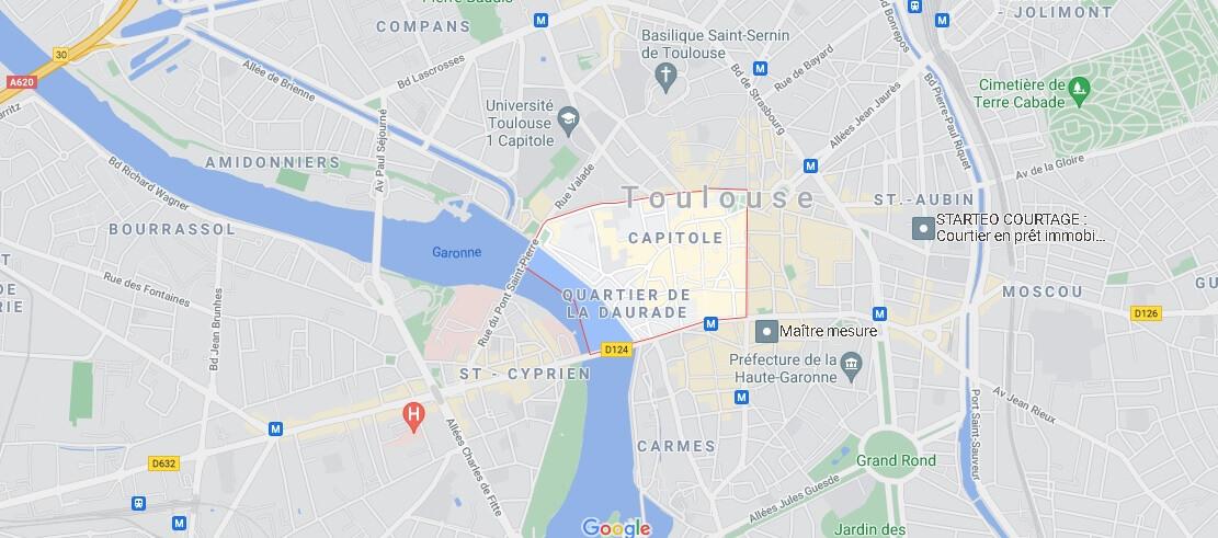 Où se situe Le Capitole