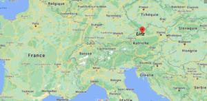 Où se situe Linz