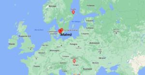 Où se situe Malmö