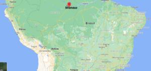 Où se situe Manaus