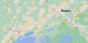 Où se situe Manduel (Code postal 30129)