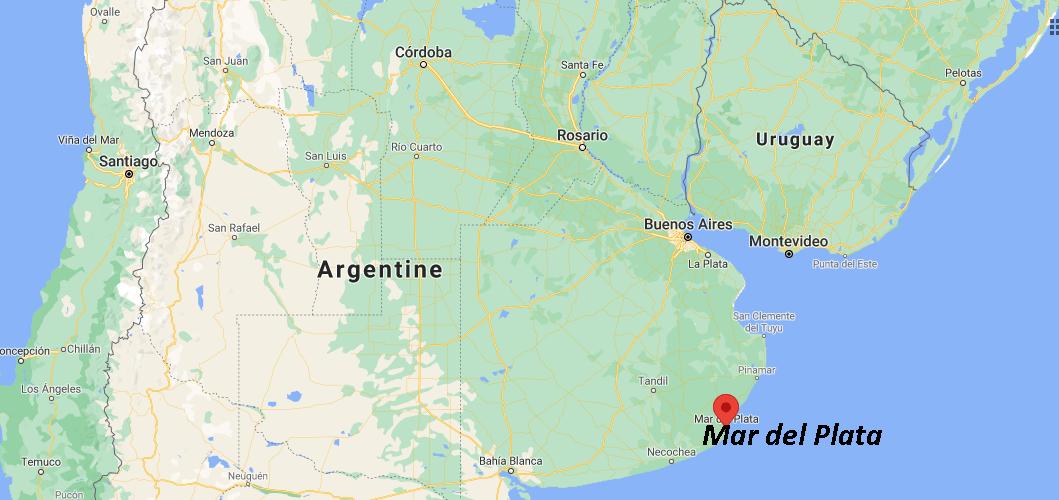 Où se situe Mar del Plata