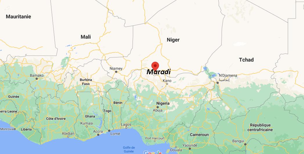 Où se situe Maradi