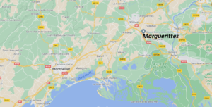 Où se situe Marguerittes (Code postal 30320)