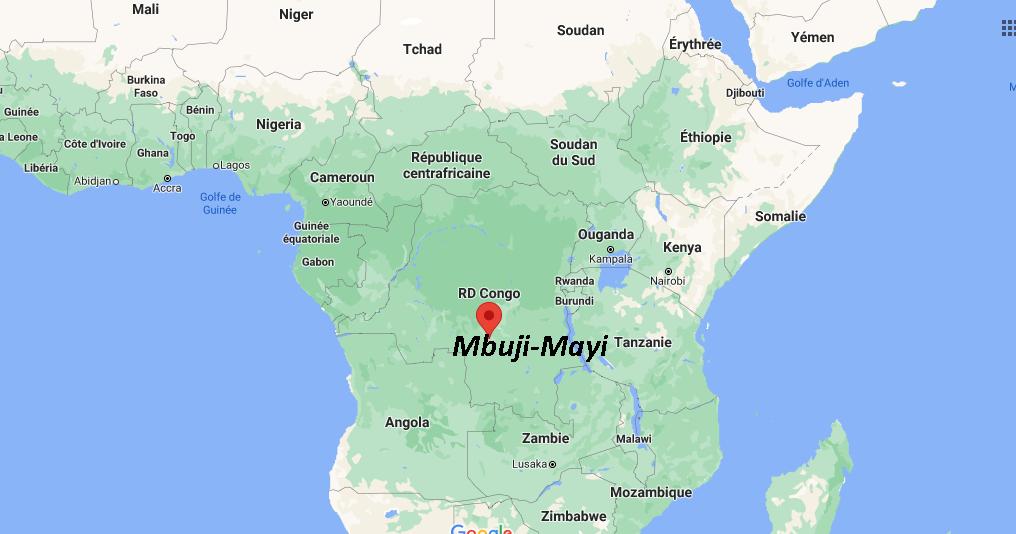 Où se situe Mbuji-Mayi
