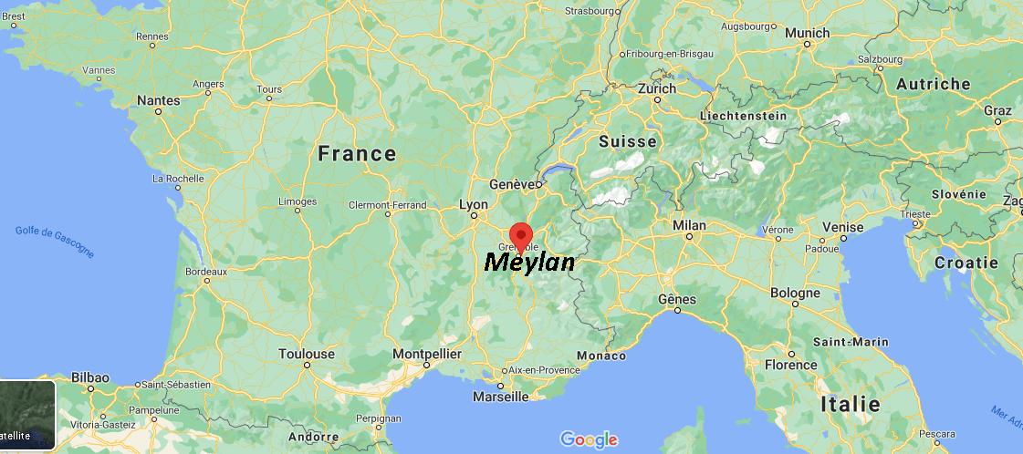 Où se situe Meylan (38240)